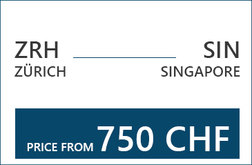 Singapore Find cheap flight tickets from Zurich